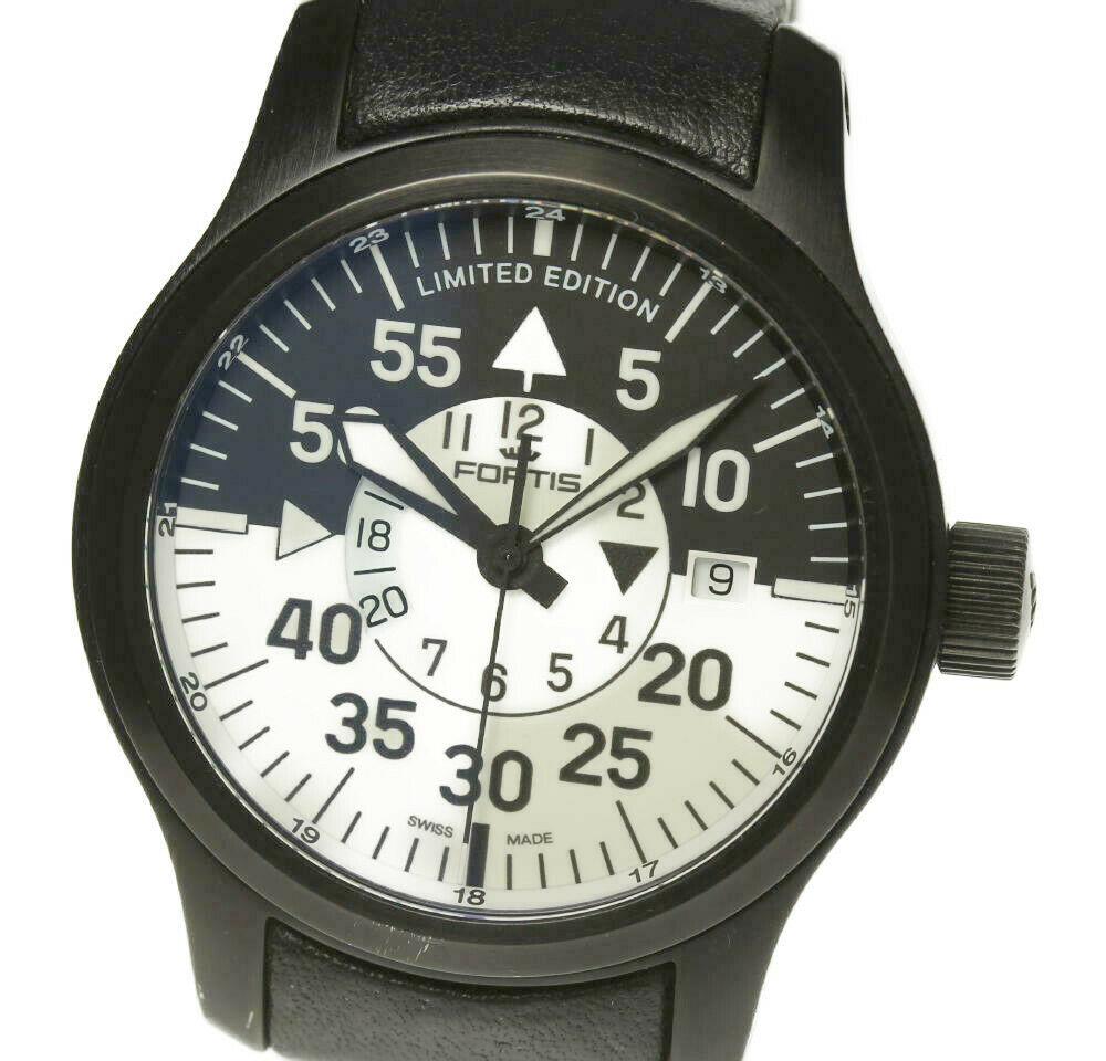 【FORTIS】フォルティス フリーガー GMT Limited Edition B-42 672.18.147 自動巻き メンズ【2043】【ev10】【中古】