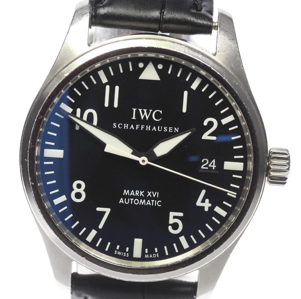 【IWC】パイロットウォッチ マークXVI IW325501 自動巻き メンズ【2024】【中古】