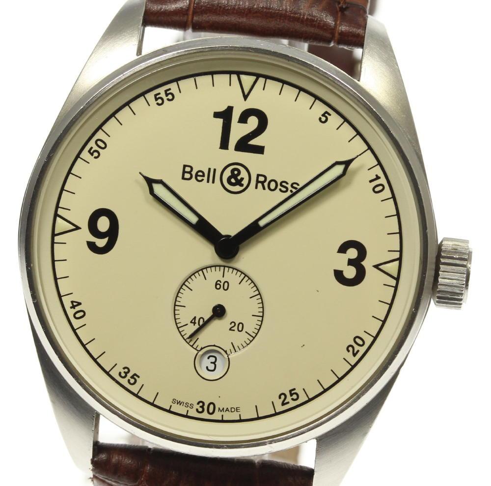 【Bell&Ross】ベル&ロス スモールセコンド 123S 自動巻き メンズ【ev15】