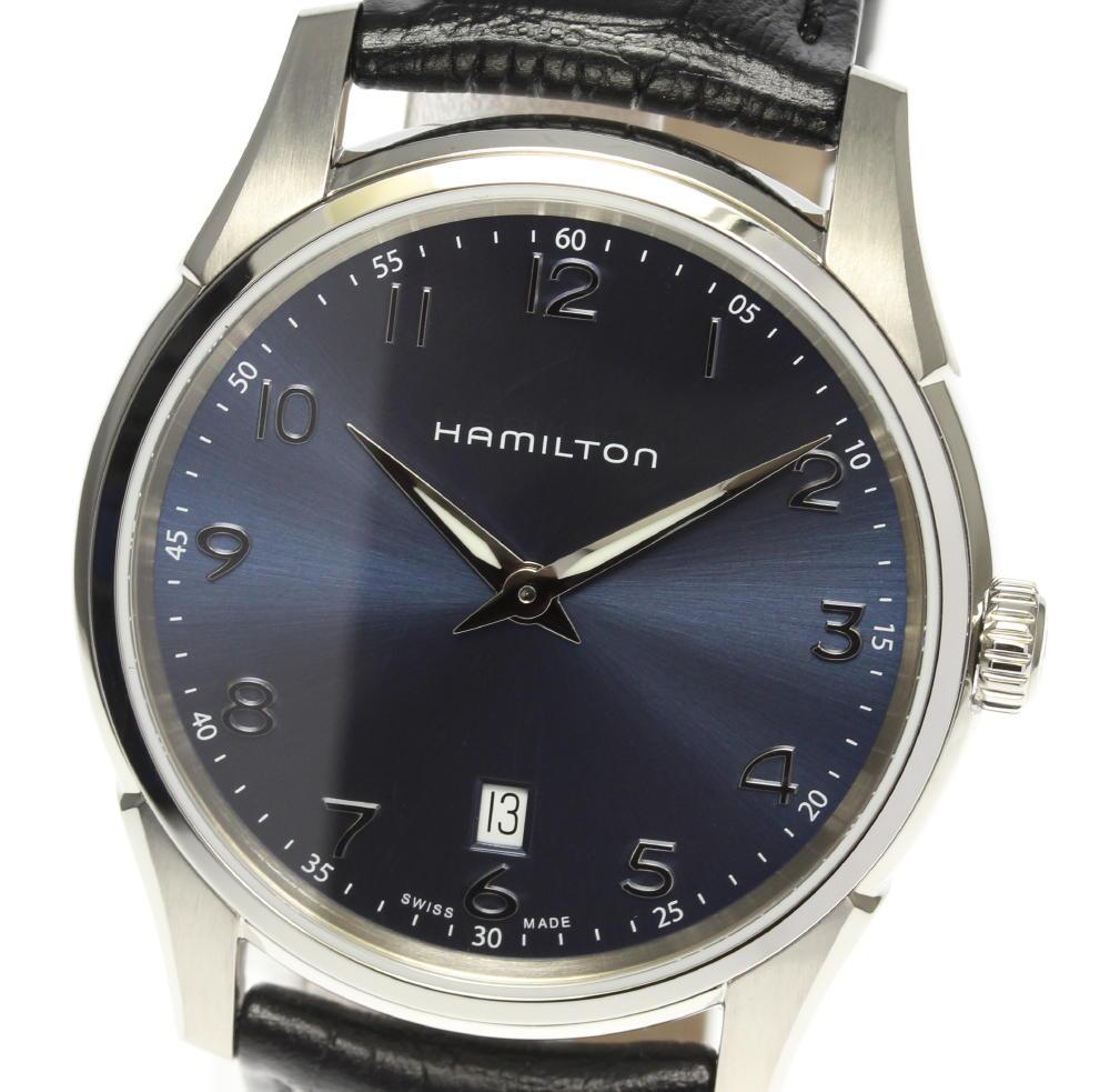 ☆未使用品 【HAMILTON】ハミルトン ジャズマスター シンライン H385111 クォーツ メンズ