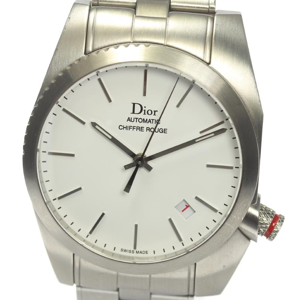【Dior】ディオール シフルルージュ デイト 自動巻き メンズ