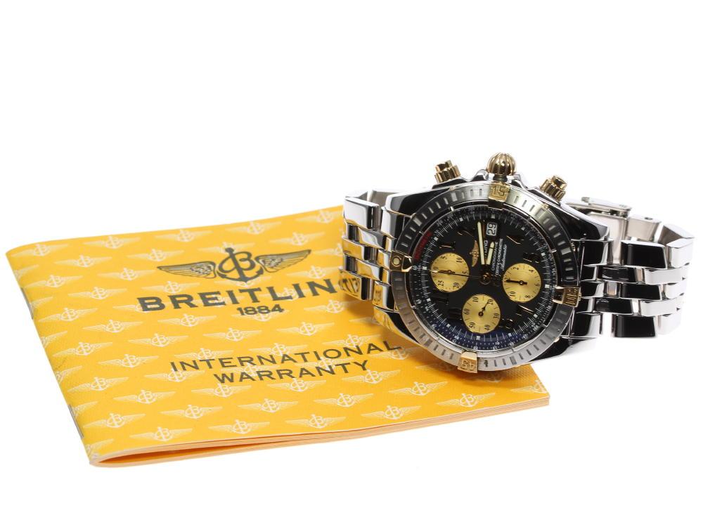 良品 BREITLING ブライトリング クロノマット エボリューション デイト B13356 自動巻き メンズ ev057Ib6vgfyY