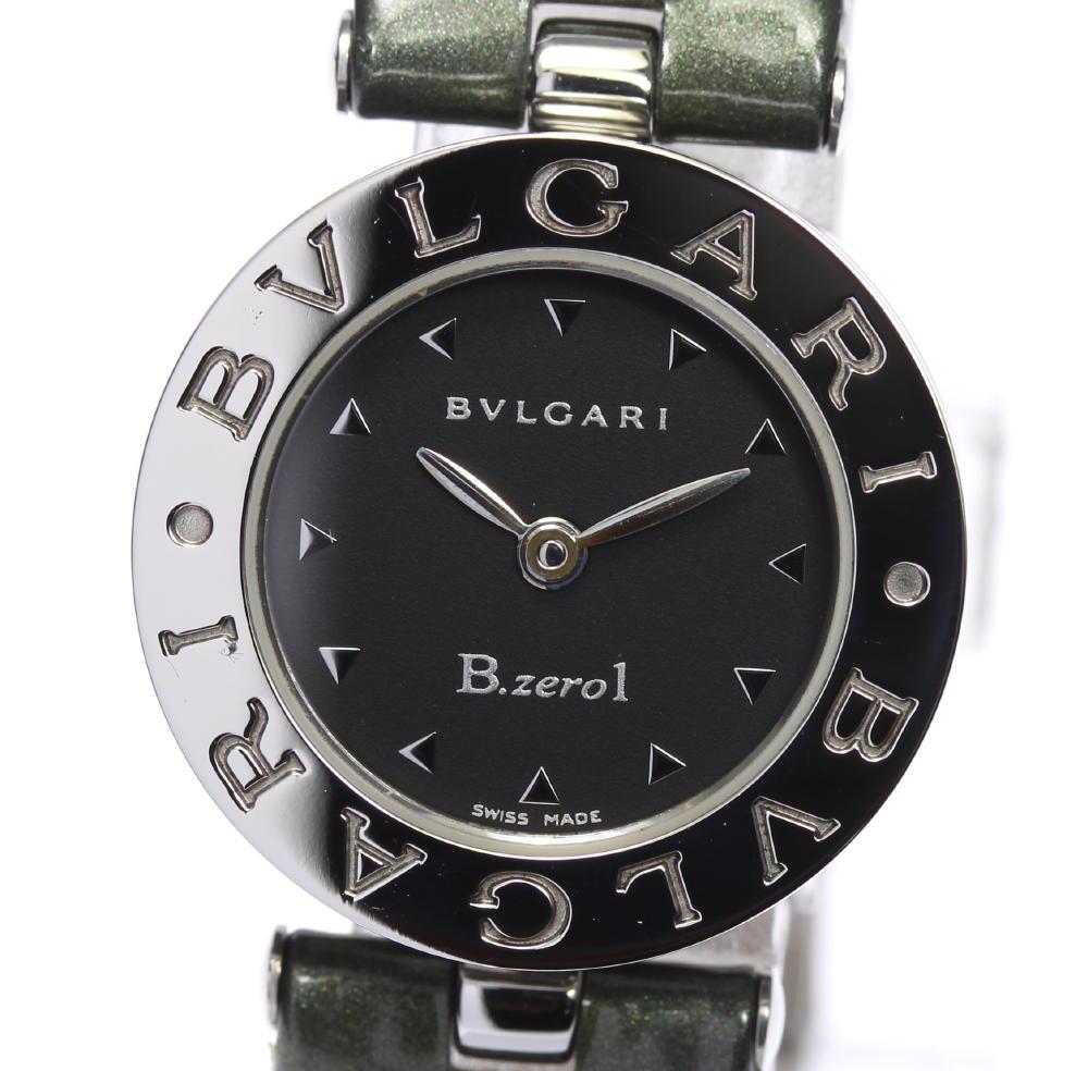 ☆美品【BVLGARI】ブルガリ B-Zero1 BZ22S クォーツ レディース【2023】【中古】