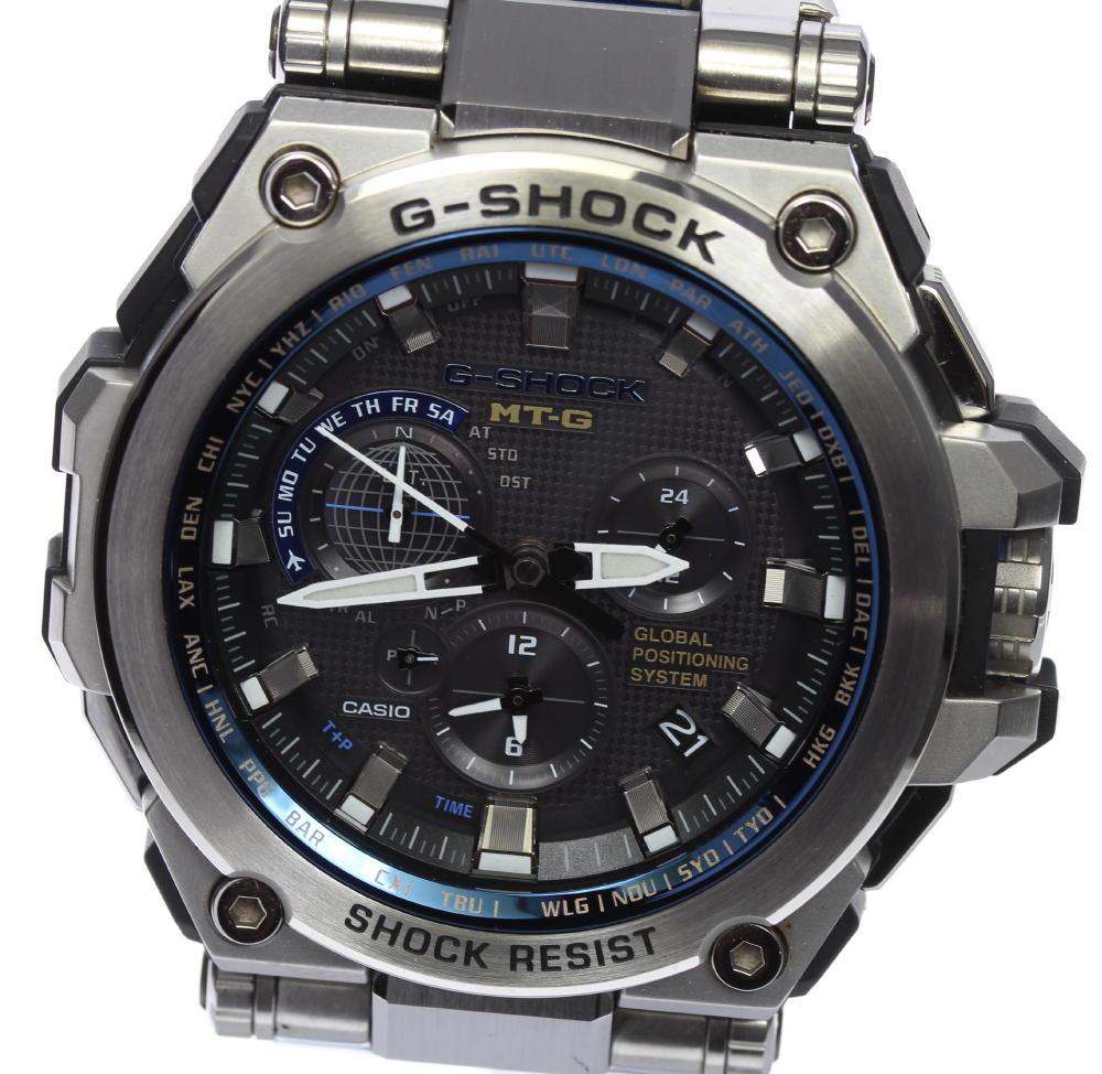 【CASIO】カシオ Gショック MTG-G1000D-1A2JF GPSソーラー電波 メンズ【ev05】
