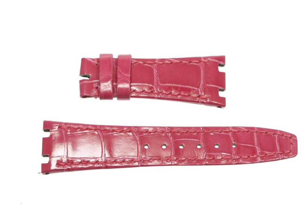 【AUDEMARS PIGUET】オーデマ・ピゲ ラグ幅21/16mm ピンク 腕時計用 革ベルト【ev05】