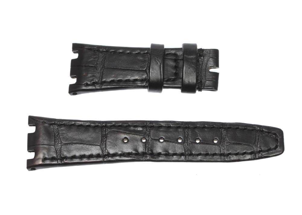 【AUDEMARS PIGUET】オーデマ・ピゲ ラグ幅21/16mm ブラック 腕時計用 革ベルト【ev05】