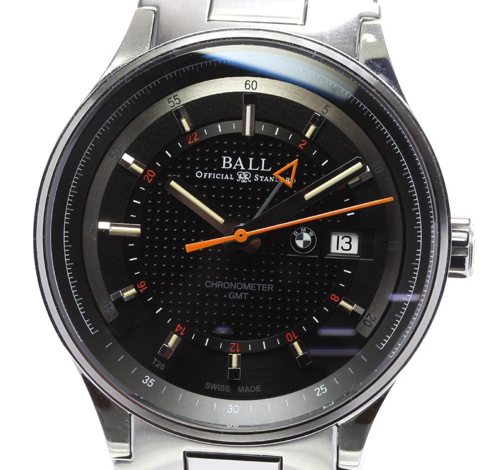 ★良品【BALL】ボールウォッチ for.BMW GMT GM3010C 自動巻き メンズ【ev05】