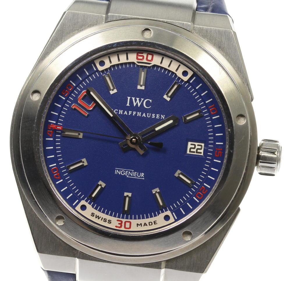 【IWC SCHAFFHAUSEN】IWC インジュニア ジダンモデル 1000本限定 IW323403 自動巻き メンズ【ev05】