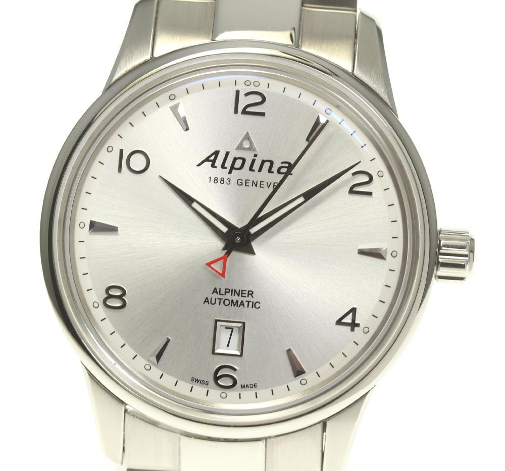 箱保付き【Alpina】アルピナ デイト AL525X4E3/6 自動巻き メンズ【中古】