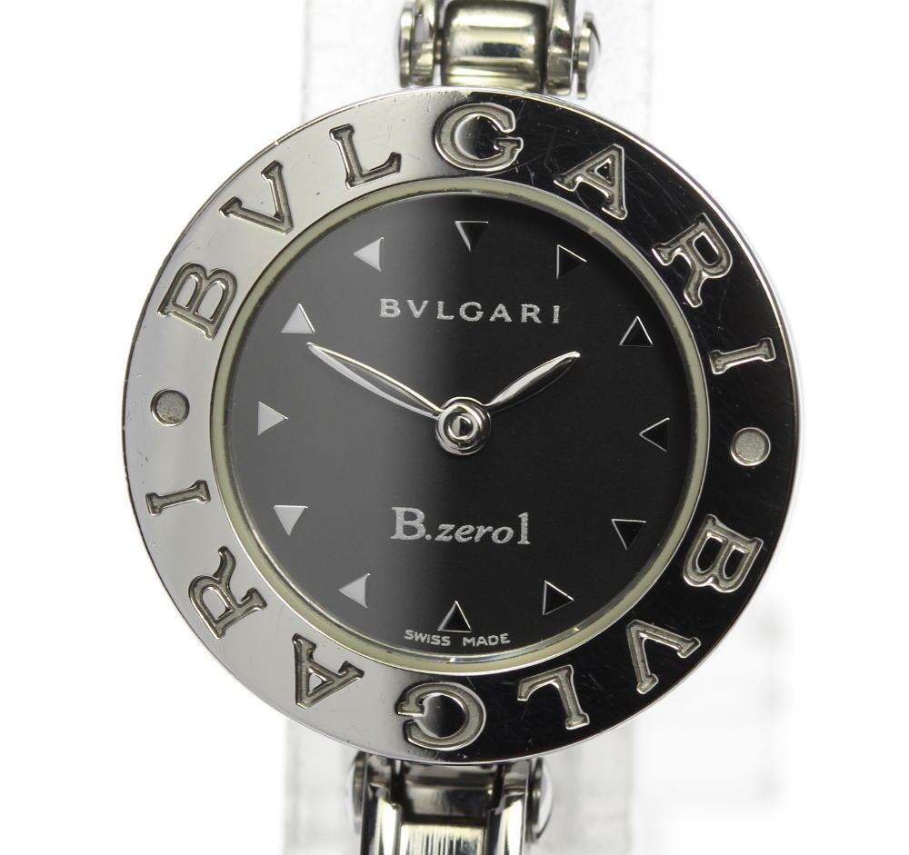 【BVLGARI】ブルガリ B-Zero1 バングル Sサイズ BZ22S クォーツ レディース【中古】