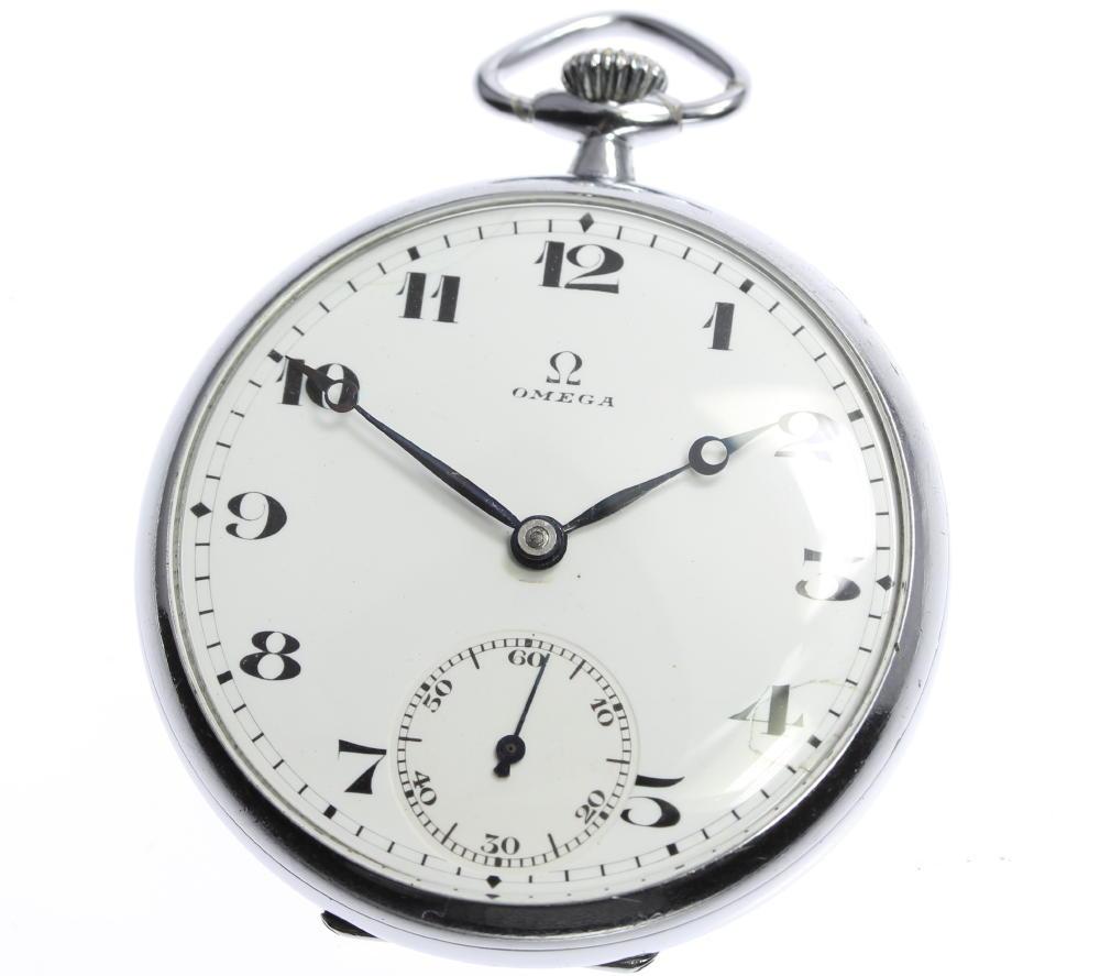 【OMEGA】オメガ 懐中時計 スモールセコンド cal.406L.T215P 手巻き メンズ【中古】