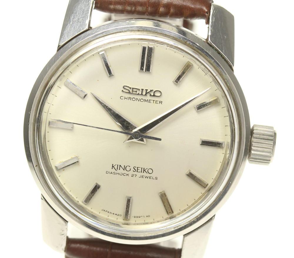 【SEIKO】セイコー キングセイコー クロノメーター Cal.4420A 49999 手巻き メンズ【中古】