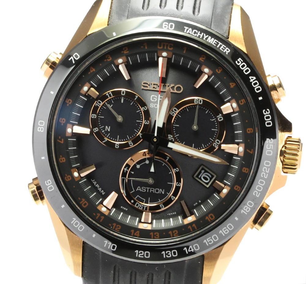 ブランド腕時計専門店CLOSER 15時までの決済で即日発送可能です 在庫数大幅増加中 在庫処分 早い者勝ち☆是非ご利用下さいませ 箱付き 並行輸入品 SEIKO セイコー アストロン 中古 8X82-0AF0 ジョコビッチ メンズ SBXB022 ノバク ソーラー電波