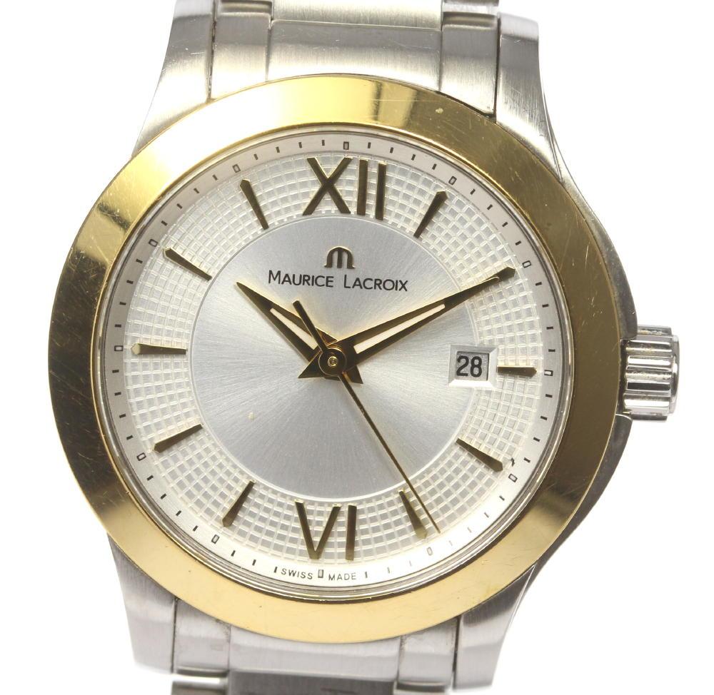 ブランド腕時計専門店CLOSER 15時までの決済で即日発送可能です 在庫数大幅増加中 日本最大級の品揃え 早い者勝ち☆是非ご利用下さいませ MAURICE LACROIX モーリスラクロア ディト 人気海外一番 レディース クォーツ 中古 M1 1063