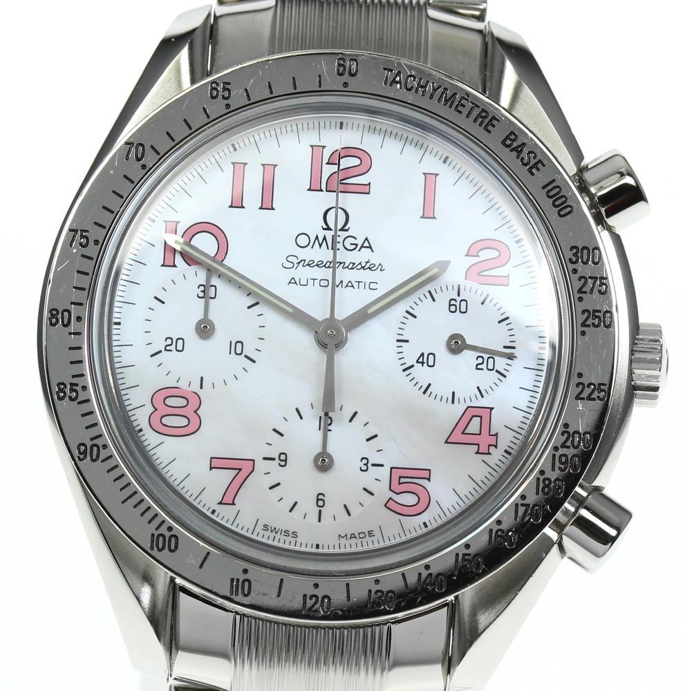 ブランド腕時計専門店CLOSER 15時までの決済で即日発送可能です 在庫数大幅増加中 早い者勝ち☆是非ご利用下さいませ OMEGA オメガ スピードマスター 自動巻き メンズ 最安値 数量限定 クロノグラフ 3534.74 中古