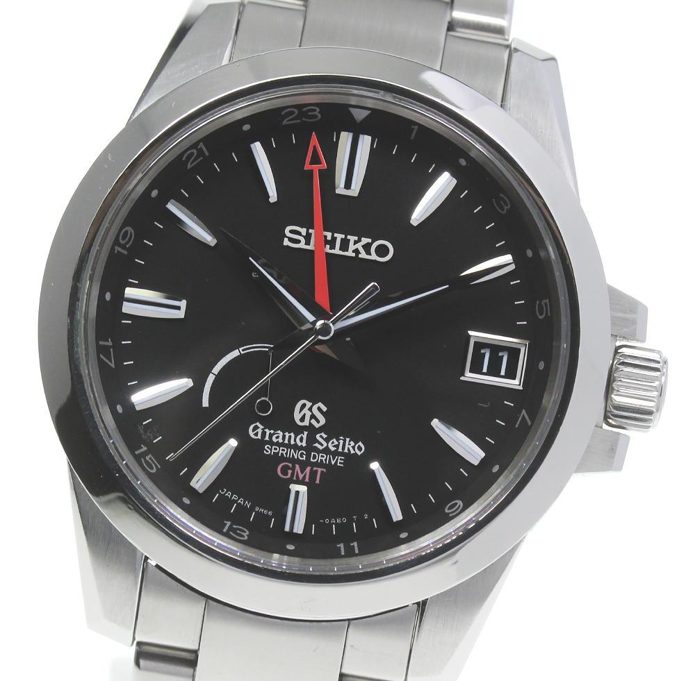 爆買いセール ブランド腕時計専門店CLOSER 15時までの決済で即日発送可能です 在庫数大幅増加中 早い者勝ち☆是非ご利用下さいませ ☆良品 箱保付き SEIKO セイコー グランドセイコー 9R66-0AE0 パワーリザーブ 中古 スプリングドライブ メンズ 評判 SBGE013