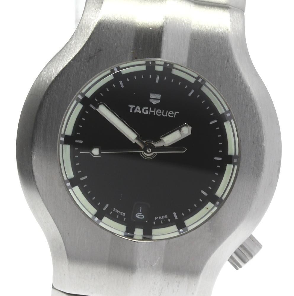 CLOSER TAG HEUER タグホイヤー 全品最安値に挑戦 アルターエゴ レディース WP1310 クォーツ 中古 日本正規品 デイト