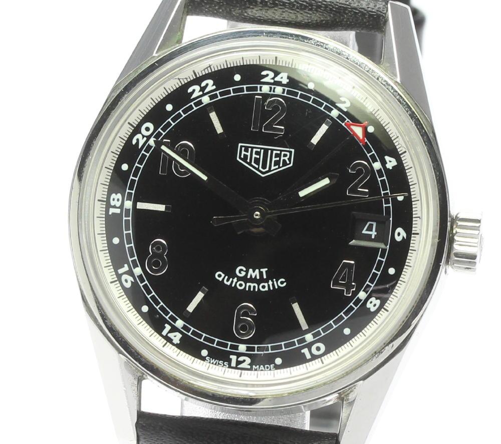 ブランド腕時計専門店CLOSER 15時までの決済で即日発送可能です 在庫数大幅増加中 登場大人気アイテム 早い者勝ち☆是非ご利用下さいませ ☆良品 TAG HEUER タグホイヤー クラシック メンズ メーカー在庫限り品 WS2113 中古 GMT カレラ 自動巻き