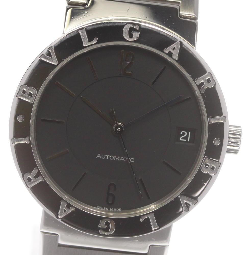 国際ブランド ブランド腕時計専門店CLOSER 15時までの決済で即日発送可能です 在庫数大幅増加中 早い者勝ち☆是非ご利用下さいませ ☆良品 激安通販 BVLGARI ブルガリ デイト メンズ 自動巻き 中古 ブルガリブルガリ BB33SS