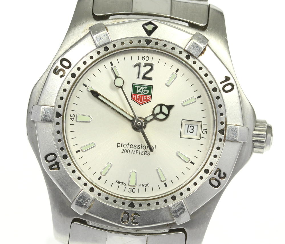 ブランド腕時計専門店CLOSER 15時までの決済で即日発送可能です 蔵 在庫数大幅増加中 早い者勝ち☆是非ご利用下さいませ TAG HEUER タグホイヤー レディース 中古 クォーツ 2000シリーズ WK1312-0 日本メーカー新品