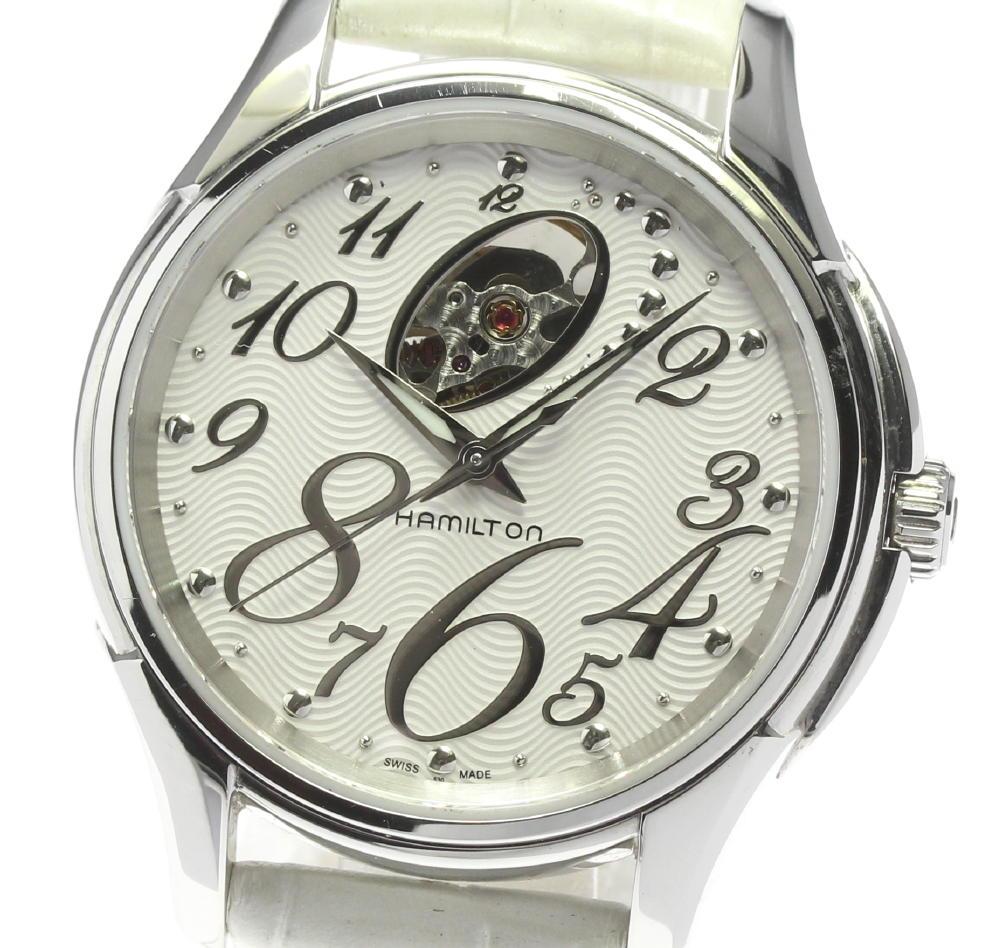 ブランド腕時計専門店CLOSER 15時までの決済で即日発送可能です 在庫数大幅増加中 早い者勝ち☆是非ご利用下さいませ 売れ筋ランキング ☆良品 HAMILTON 手数料無料 中古 H324650 ハミルトン メンズ ジャズマスター 自動巻き