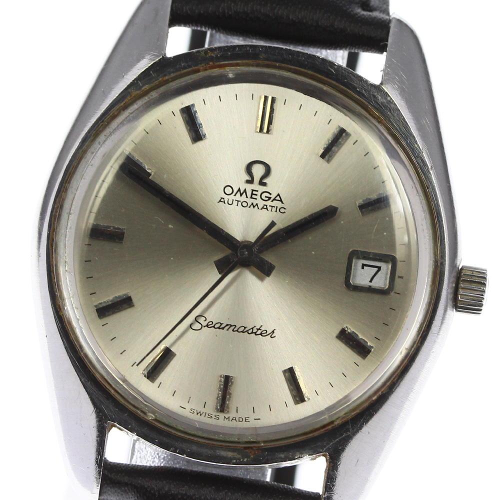 ブランド腕時計専門店CLOSER 日本産 15時までの決済で即日発送可能です 在庫数大幅増加中 絶品 早い者勝ち☆是非ご利用下さいませ OMEGA オメガ メンズ 166.0167 シーマスター Cal.1012 自動巻き 中古