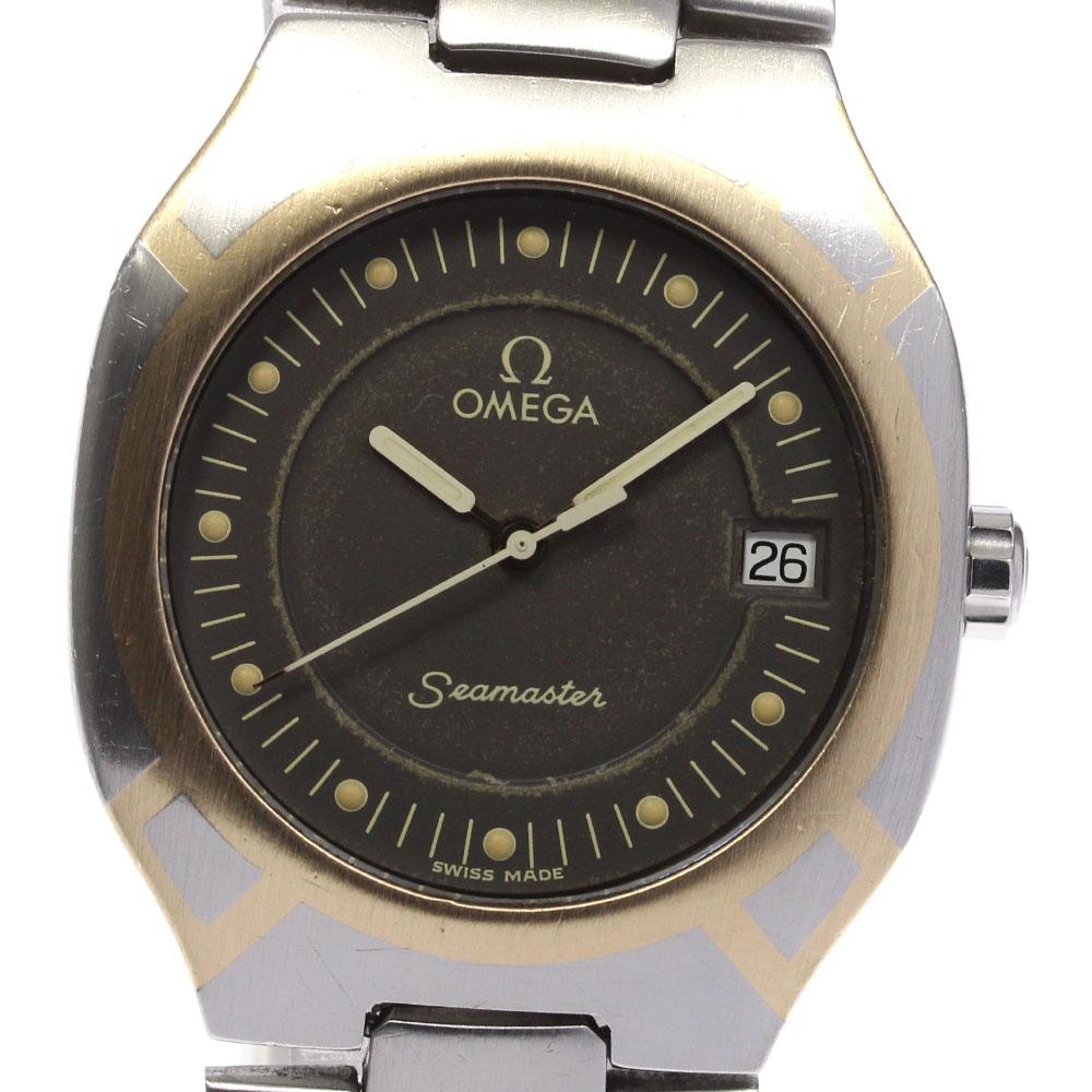 ブランド腕時計専門店CLOSER 15時までの決済で即日発送可能です 在庫数大幅増加中 早い者勝ち☆是非ご利用下さいませ 送料無料 激安 お買い得 キ゛フト OMEGA オメガ 中古 クォーツ ギフ_包装 シーマスター メンズ ポラリス