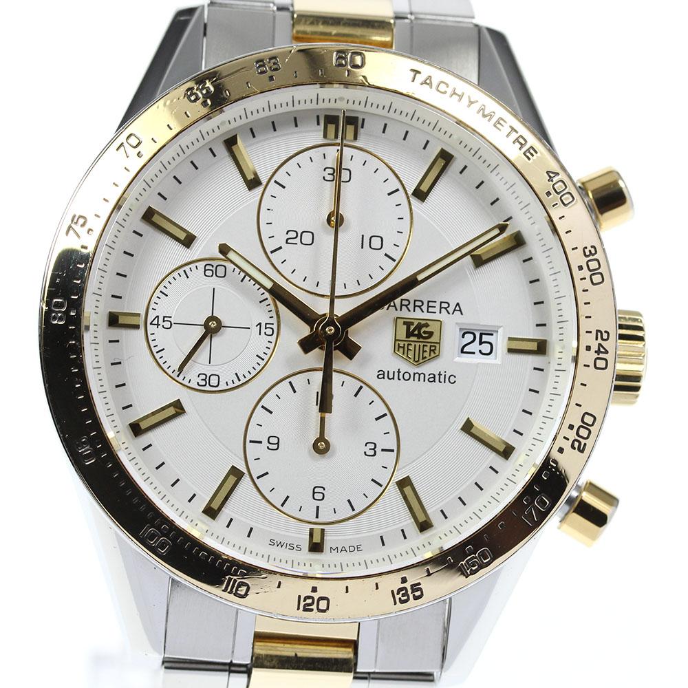 ブランド腕時計専門店CLOSER 15時までの決済で即日発送可能です 在庫数大幅増加中 早い者勝ち☆是非ご利用下さいませ TAG HEUER タグホイヤー CV2050 格安 価格でご提供いたします 中古 自動巻き メンズ カレラ クロノグラフ 4年保証 キャリバー16