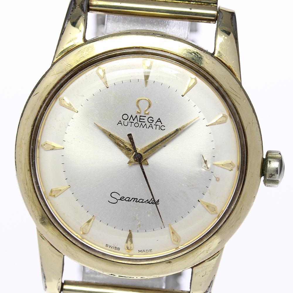 ブランド腕時計専門店CLOSER 15時までの決済で即日発送可能です 在庫数大幅増加中 早い者勝ち☆是非ご利用下さいませ OMEGA 正規販売店 期間限定お試し価格 オメガ シーマスター 2577-22 cal.354 メンズ 中古 自動巻き ハーフローター
