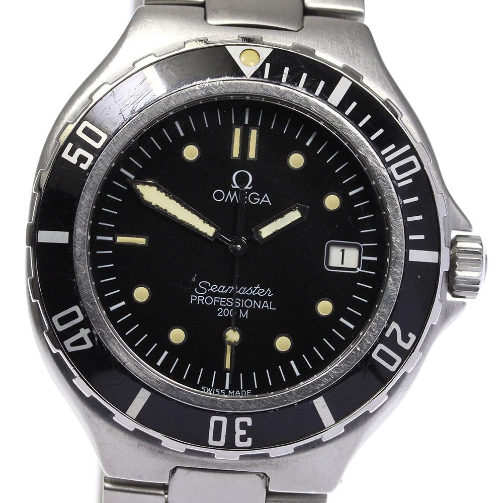 ブランド腕時計専門店CLOSER 15時までの決済で即日発送可能です 無料サンプルOK 在庫数大幅増加中 早い者勝ち☆是非ご利用下さいませ 保証書付き OMEGA メンズ 2850.50 シーマスター200 クォーツ オメガ 中古 売れ筋