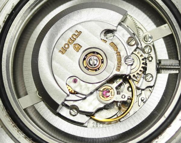 튜더 미니 서브 73091 콤비 자동감김 레이디스 손목시계