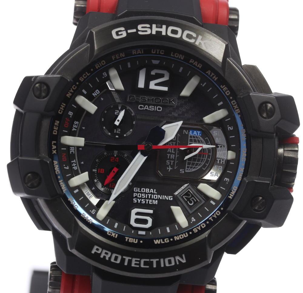 Closer Rakuten Global Market Casio G Shock Gravity Master Gshock Gpw 1000 Solar Electric Wave Men