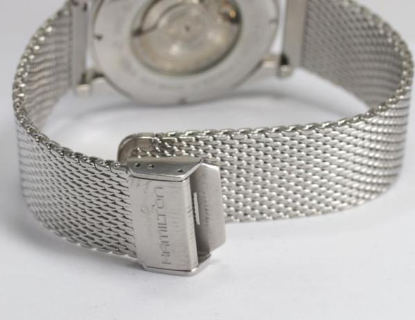 Hamilton jazz master H386150 self-winding watch men box, 保付 comes