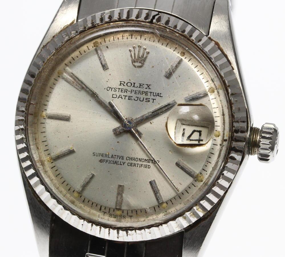 Reason Existence Rolex Date Just 1601 Cal 1530 Self Winding Watch Men