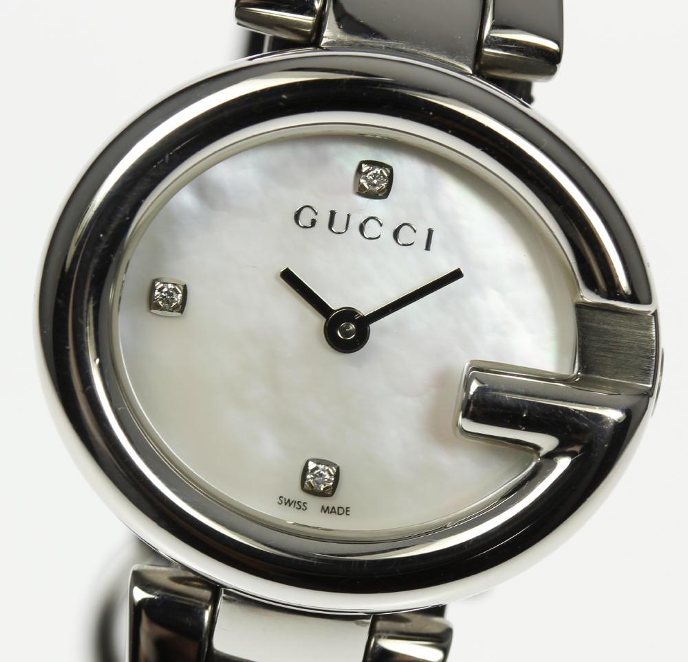 34592875177 CLOSER  Gucci 134.5 shell 3P quartz Lady s♪