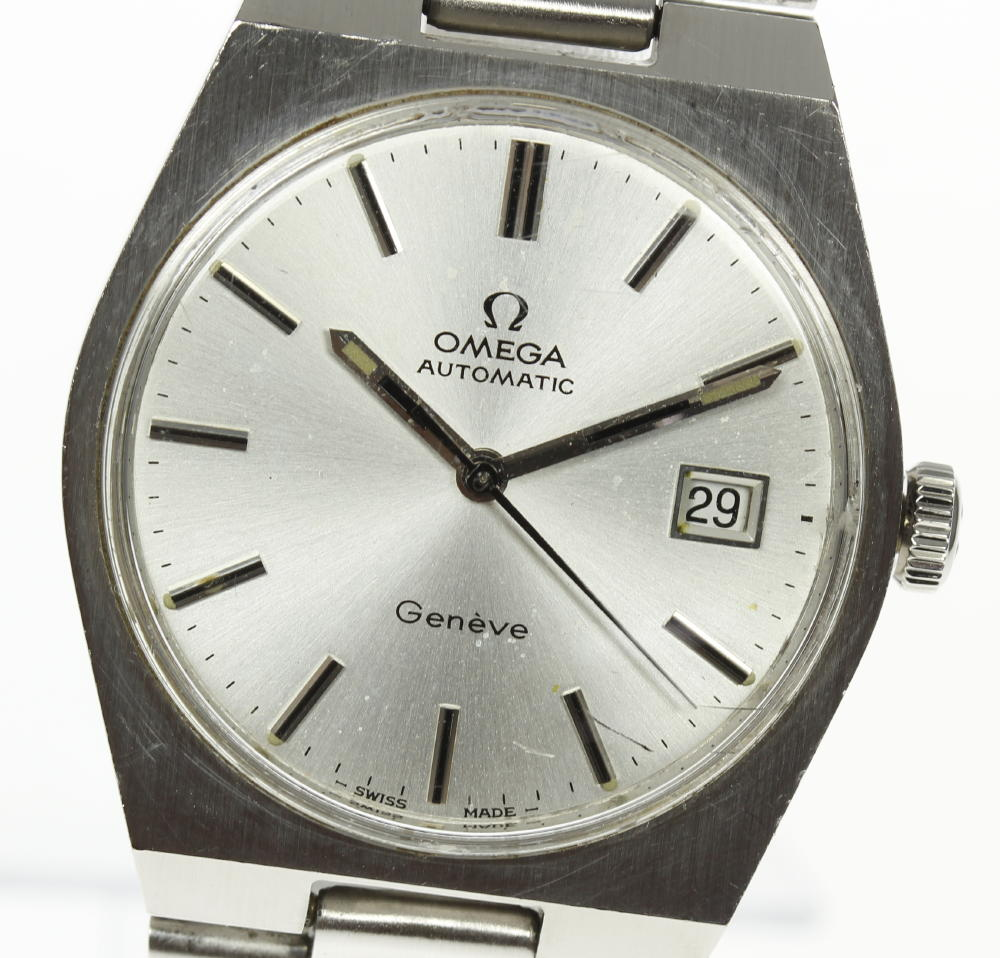 Omega Geneva Cal .1481 self-winding watch date indication men