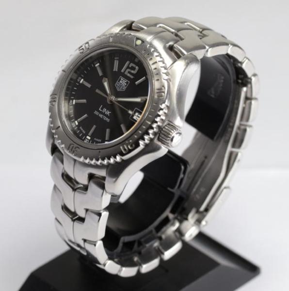 タグホイヤーリンク WT1210-0 black clockface quartz men