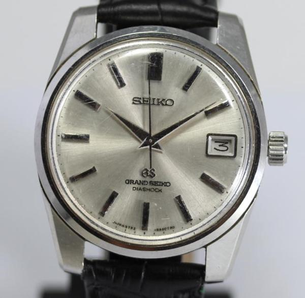 Grand SEIKO second 5722-9991 moves winding men's ☆ antique