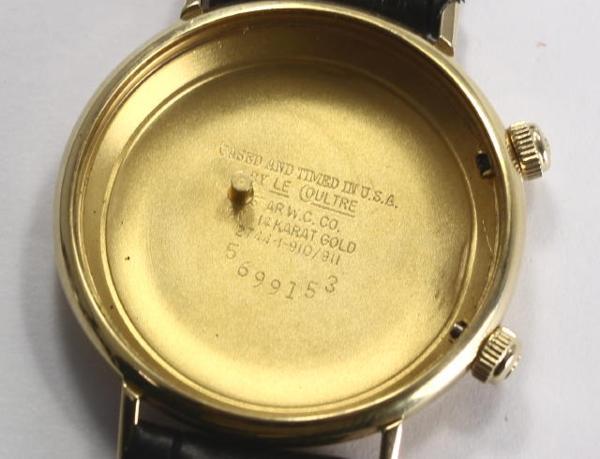 ※瑕疵物品積家筆記箱Cal.K911警報手卷