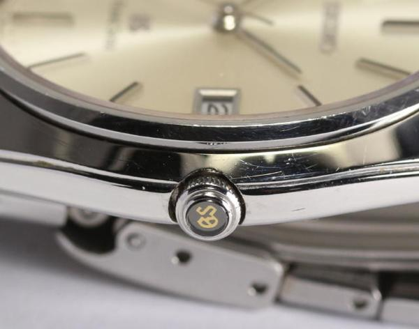 Grand SEIKO 9587-8000 SS quartz men☆