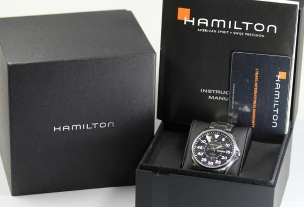 Hamilton khaki D date H646110 quartz men watch