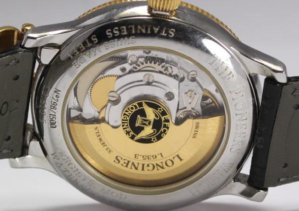론진파이오니아즈 GMT L2. 610.5 GP콤비 자동권맨즈