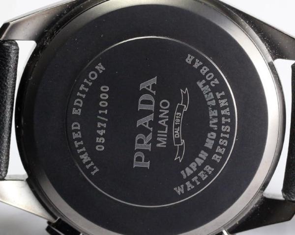 프라다사피아노 2 AR932 SS×가죽 솔러 전파 맨즈