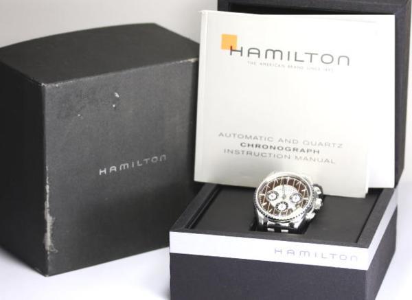 hamirutonribakuronogurafu H346160自动卷人手表