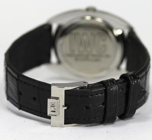 IWC 인터내셔널 Cal. 403 손으로 말기 네이비 맨즈 손목시계