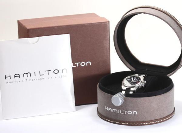 Hamilton khaki 6301 quartz Boys◎