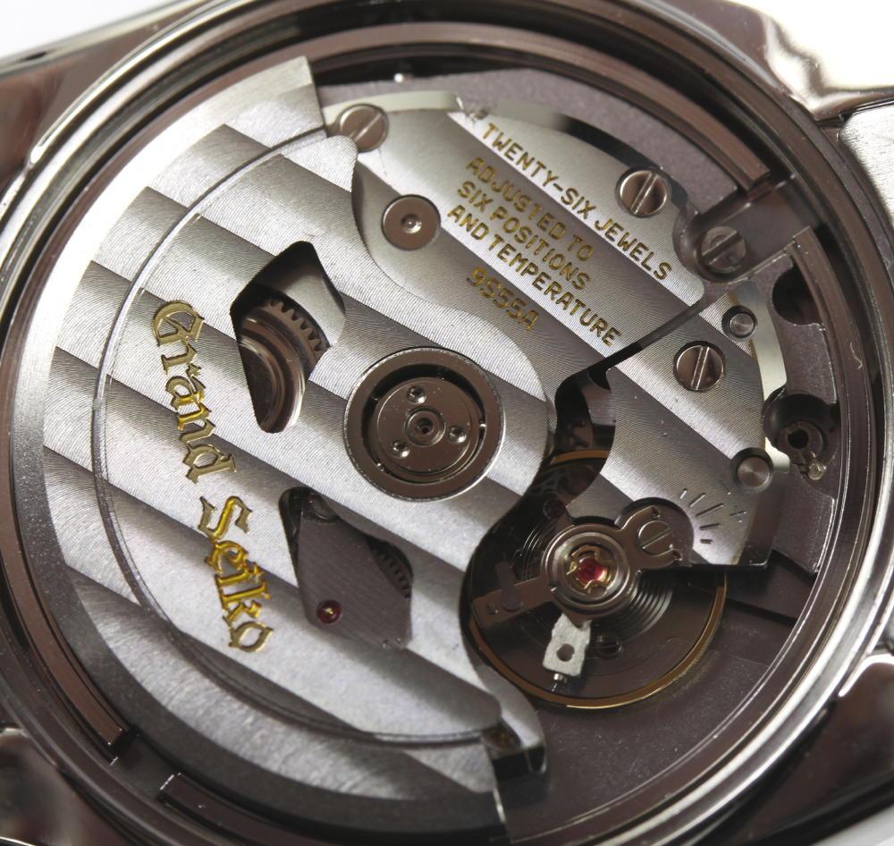 lowest price 86d8f 5f7e1 ★Beautiful article ★ GS ground SEIKO SBGR001 9S55-0010 self-winding watch  men