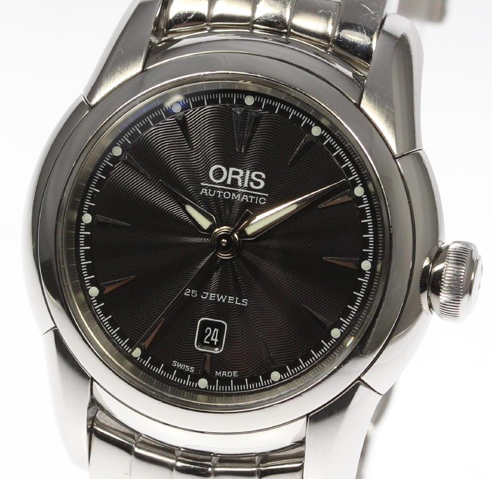 保証書付【ORIS】 オリス アートリエ 7548 純正ブレス 自動巻き レディース【180225】【中古】【event】