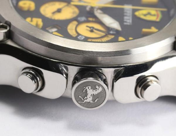 페라리 Ref. 01668 크로노그래프 쿼츠 맨즈 손목시계