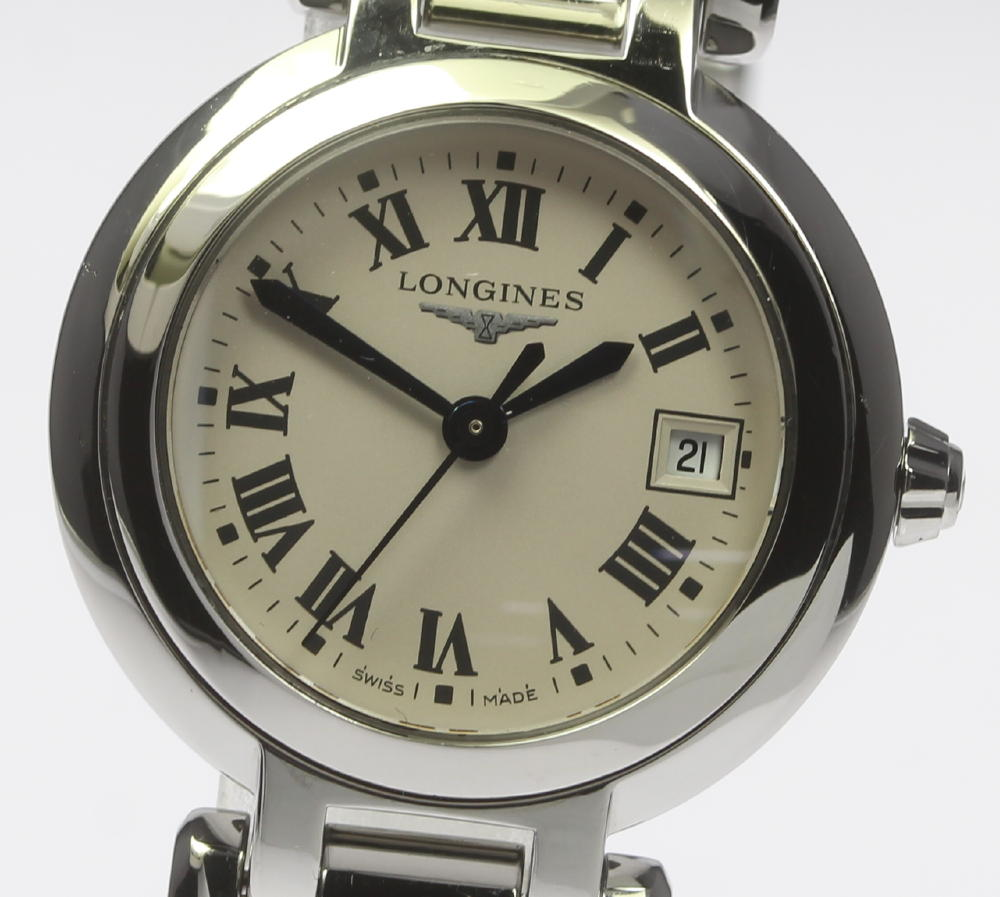 LONGINES ロンジン プリマルナ L8 110 4 QZ レディース 180329vm0wO8Nn